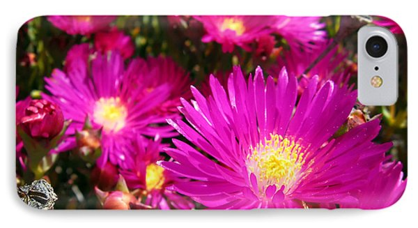 Purple Flowers Phone Case by Jelena Jovanovic