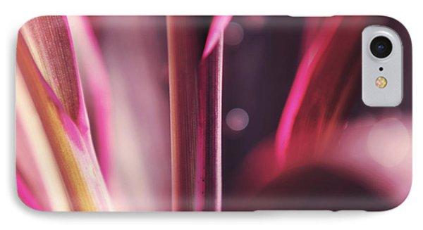 Purple Glow Phone Case by Jenny Rainbow