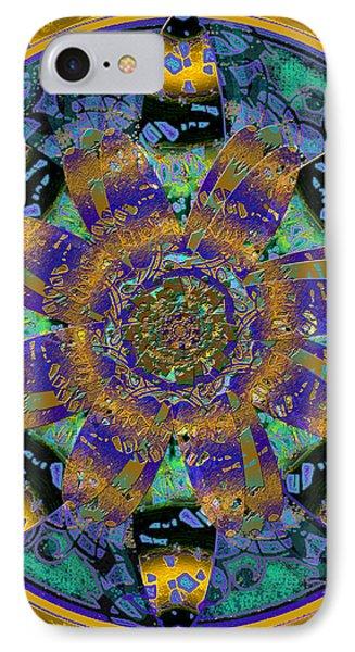 Purple Gold Dream Catcher Mandala IPhone Case