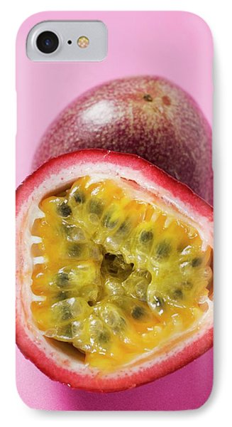 Purple Granadilla (passion Fruit), Halved IPhone Case