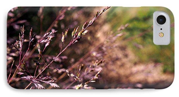Purple Grass Phone Case by Kaleidoscopik Photography