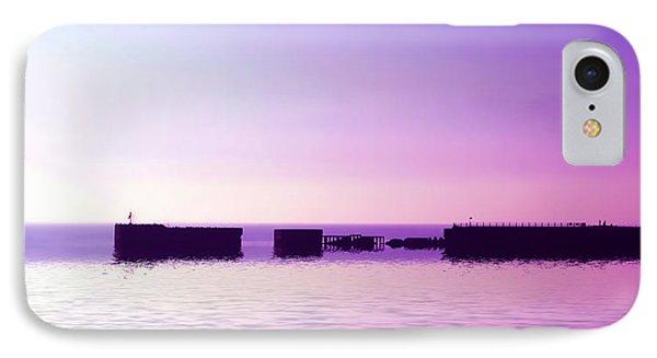 Purple Harbor Phone Case by Sharon Lisa Clarke