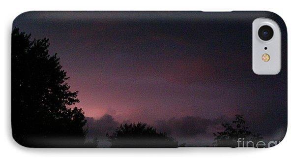 Purple Haze After Storm Phone Case by Gail Matthews