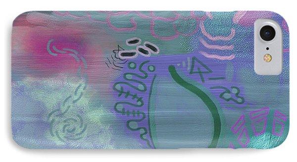 Purple Haze Between The Clouds Phone Case by Lazaros