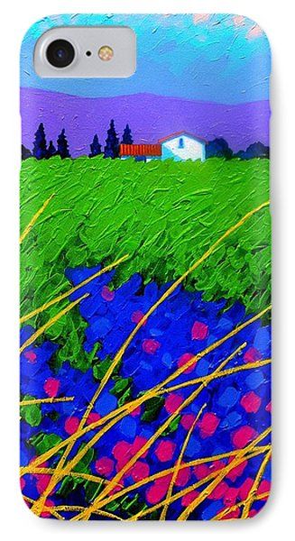 Purple Hills IPhone Case by John  Nolan