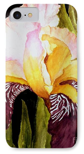 Purple Iris IPhone Case by Carol Grimes