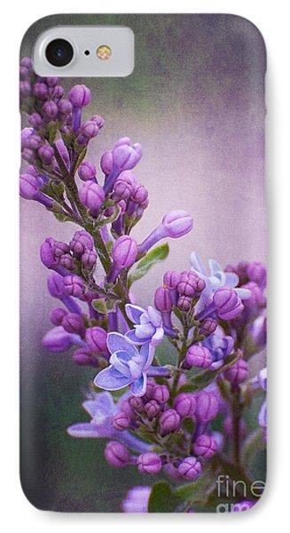 Purple Lilacs IPhone Case by Bianca Nadeau
