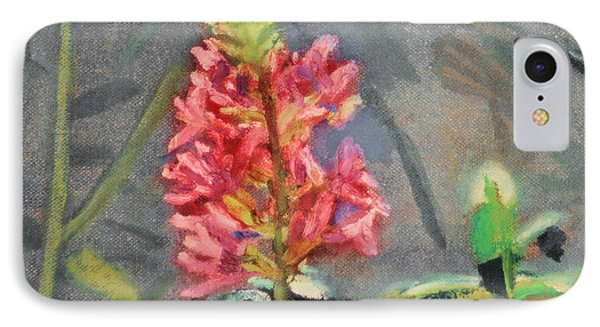 IPhone Case featuring the painting Purple Loosestrife by Michael Daniels