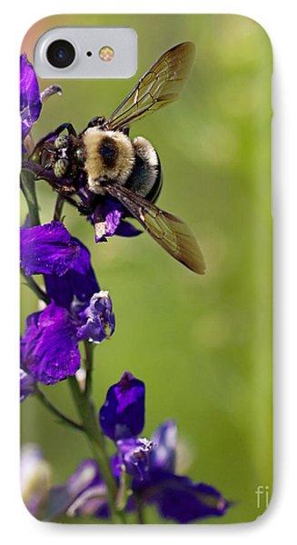 Purple Majesty IPhone Case by Erika Weber