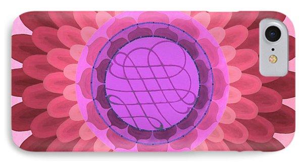 Purple Mandala Phone Case by Vlatka Kelc