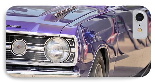 Purple Mopar IPhone Case