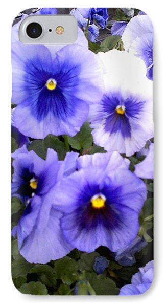 IPhone Case featuring the photograph Purple Morning Glory by Fortunate Findings Shirley Dickerson
