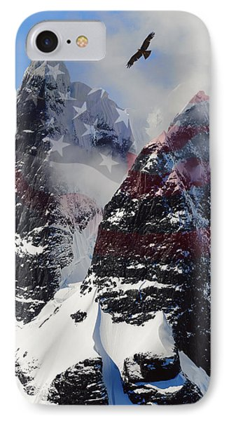 Purple Mountain Majesties IPhone Case by Daniel Hagerman