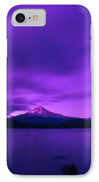 Purple Mountain Majesty IPhone Case by Lori Grimmett