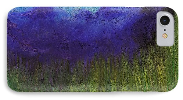 Purple Mountains By Jrr Phone Case by First Star Art