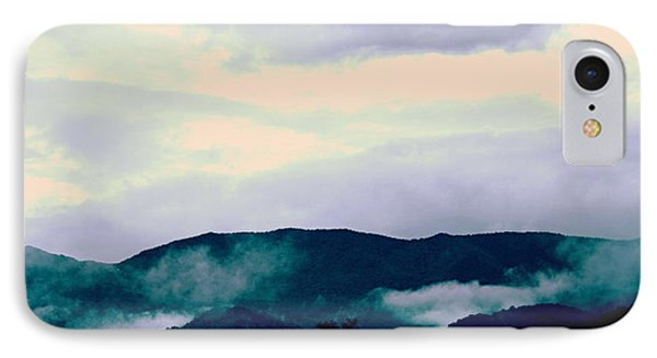 Purple Mountains Majesty Blue Ridge Mountains IPhone Case by Kathy Barney