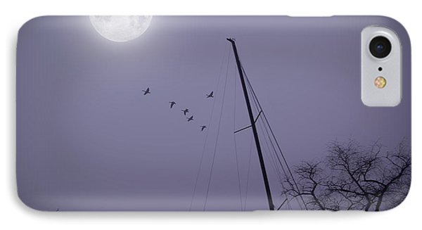 Purple Night Phone Case by Brian Wallace