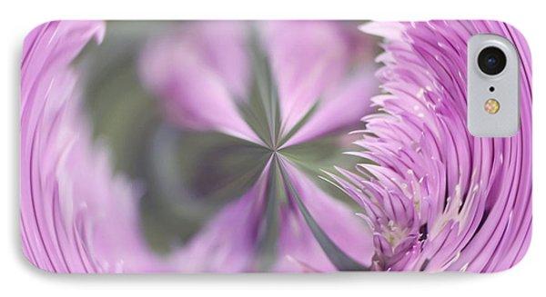 Purple Orb Phone Case by Kim Hojnacki