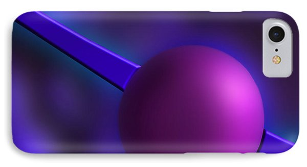 Purple Orb IPhone Case by Paul Wear