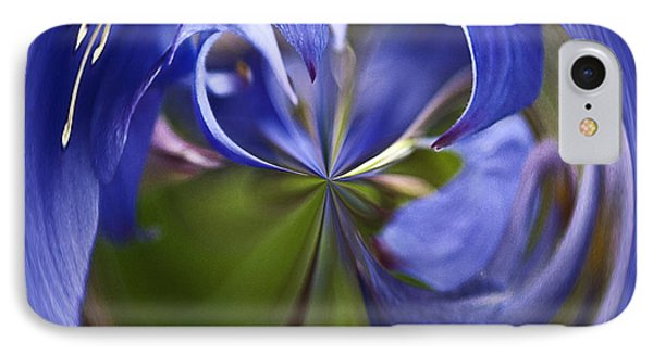 Purple Orb Phone Case by Ron Roberts