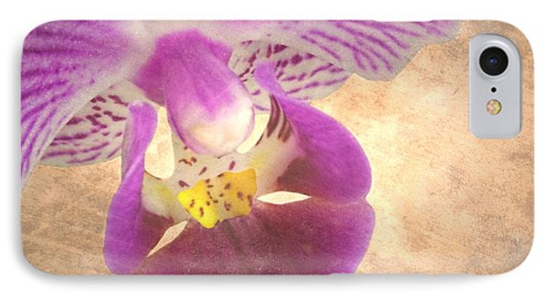 Purple Orchid 1 Phone Case by Rudy Umans