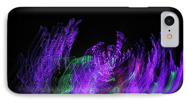 Purple Passion. Dancing Lights Series Phone Case by Ausra Huntington nee Paulauskaite