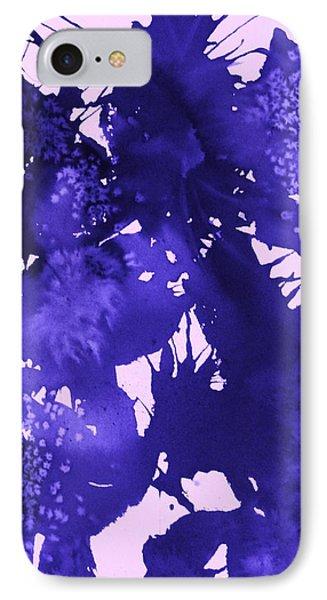 Purple Passion IPhone Case by Ellen Levinson