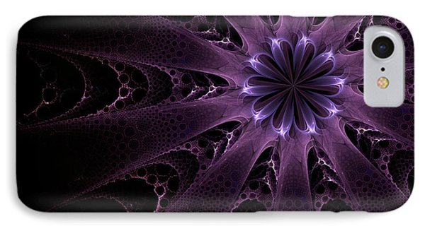 Purple Passion IPhone Case by GJ Blackman