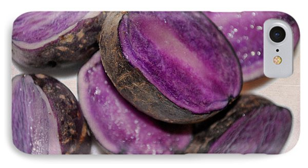 Purple Passion IPhone Case by Linda Segerson