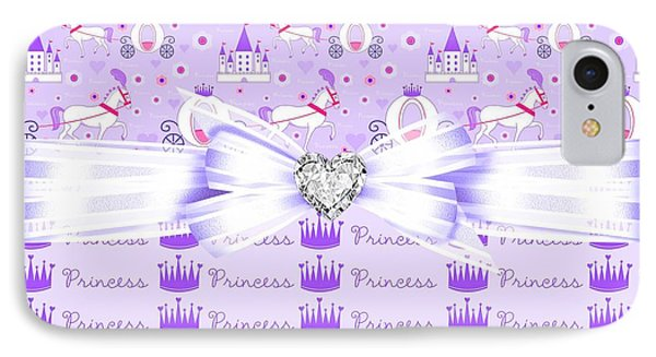 Purple Passion Princess  Phone Case by Debra  Miller