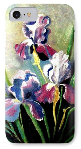 Purple Passion Phone Case by Zelma Hensel