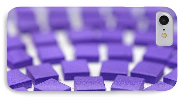 Purple Pattern Phone Case by Amy Cicconi