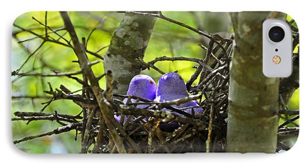 Purple Peeps Pair Phone Case by Al Powell Photography USA