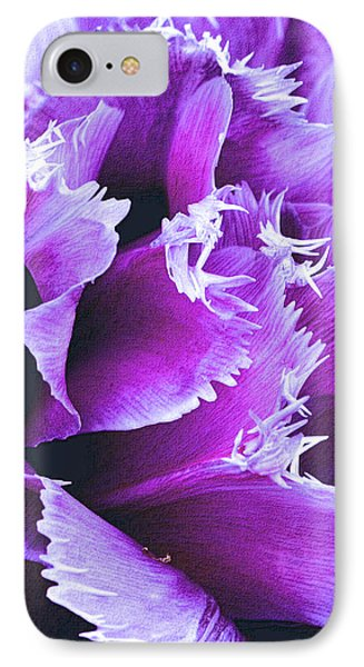 Purple Perfection IPhone Case by Nadalyn Larsen