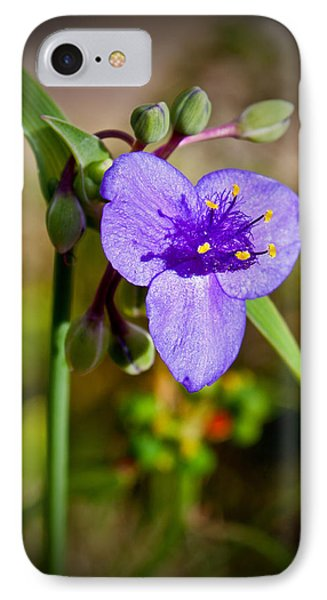IPhone Case featuring the photograph Purple Petals by Jean Haynes