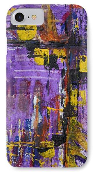 Purple Rain IPhone Case by Alexandra Jordankova