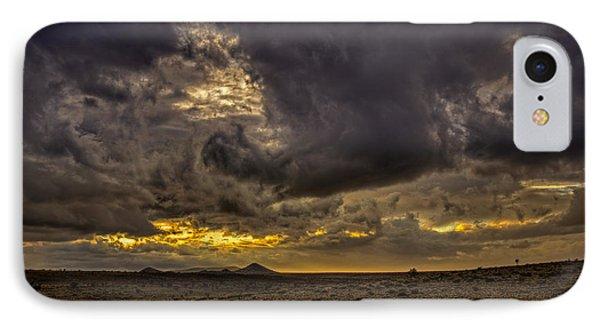 Purple Rain IPhone Case by Dave Garner
