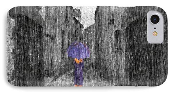 Purple Rain IPhone Case by Jim  Hatch