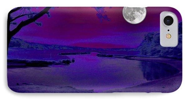 Purple Reign IPhone Case by Robert McCubbin