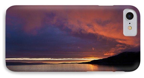 Purple Skies Phone Case by Heiko Koehrer-Wagner