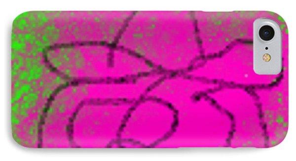 Purple Sleeping Cowboy Phone Case by James Eye