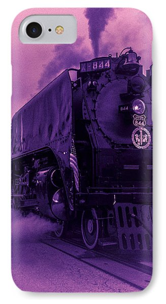 IPhone Case featuring the photograph Purple Smoke by Bartz Johnson