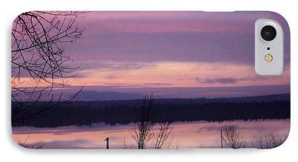 Purple Sunrise IPhone Case