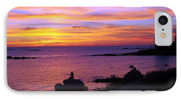 Purple Sunset 2 IPhone Case by Sheila Byers