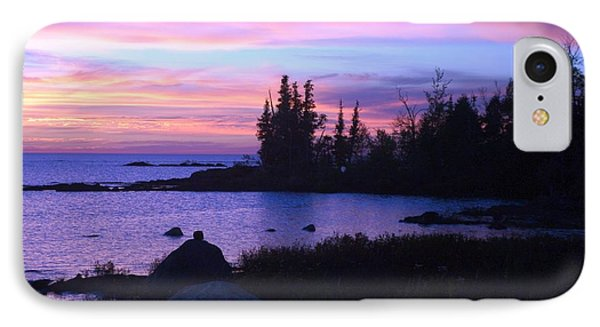 Purple Sunset 3 IPhone Case by Sheila Byers