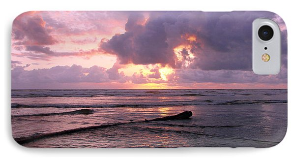 Purple Pink Sunset IPhone Case by Athena Mckinzie