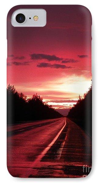 Purple Sunset Phone Case by Jennifer Kimberly