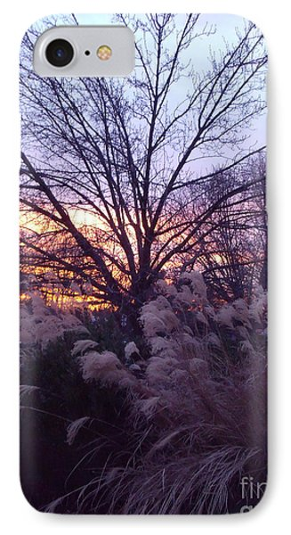 IPhone Case featuring the photograph Purple Sunset by Lyric Lucas