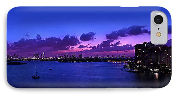 Purple Sunset Phone Case by Michael Guirguis