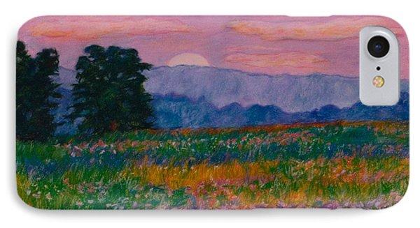 Purple Sunset On The Blue Ridge IPhone Case by Kendall Kessler